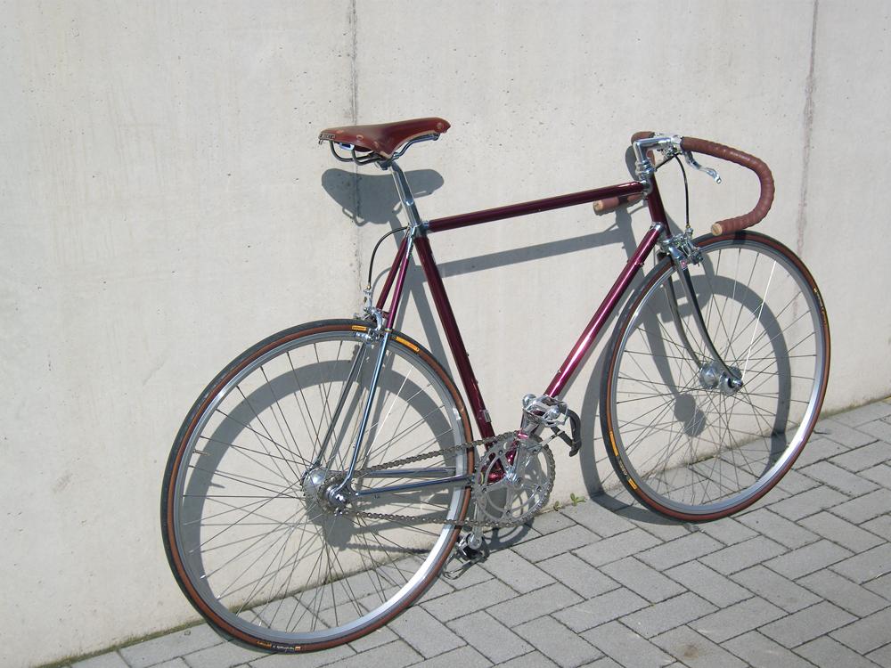 Farbe auf verchromten Rahmen | Rennrad-News.de